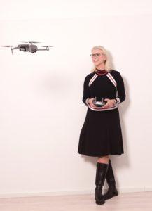 Drohnenpilotin Kiel Doris Heldt