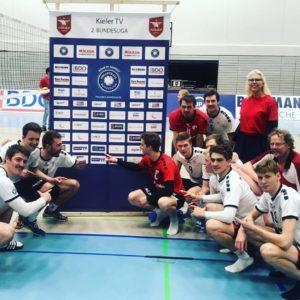 KTV Adler Kiel 2 Bundesliga Volleyball Lieblingsmaklerin Drohnenpilotin