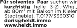 Suche Wohnung Kiel Immobilien Heldt