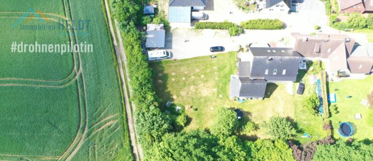 Drohnenbilder #drohnenpilotin Immobilien HELDT Doris Kiel #lieblingsmaklerin